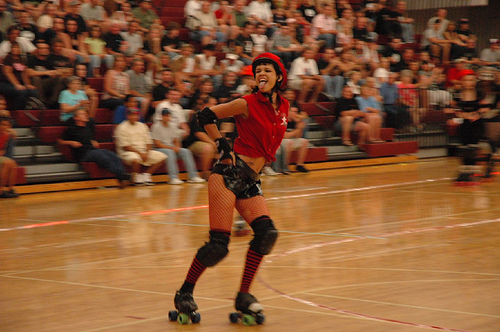 This was our jammer: Holly Hacksaw