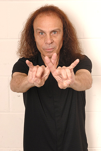 Dio, Ronnie James Dio, Sunrise, Florida, devil horns, rock 'n' roll, metal