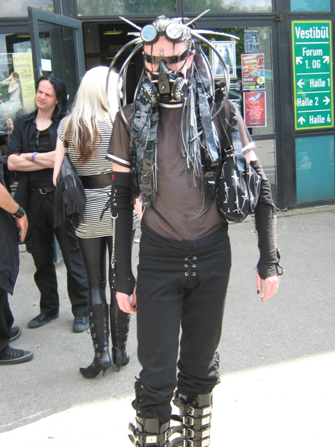 Leipzig, Germany, Wave Gotik Treffen, WGT, 2009