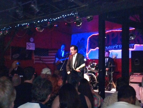 Unknown Hinson at skipper's smokehouse tampa 3/2/12