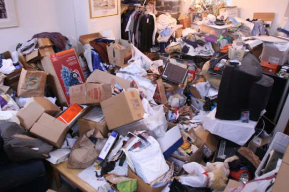 messiest house, hoarder house