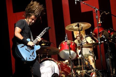 dave grohl, music midtown 2012, atlanta, foo fighters
