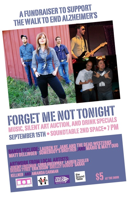 Forget Me Not Tonight Poster