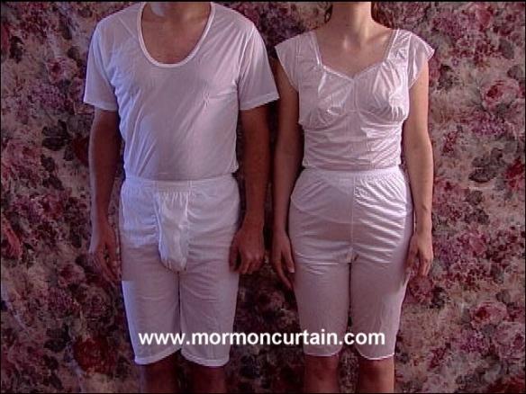mormon, sacred undergarments
