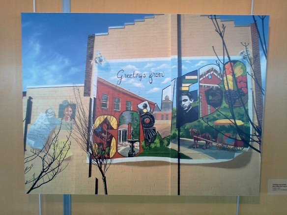 Charm city trip murals records and the sexiest chicken for Baltimore mural program