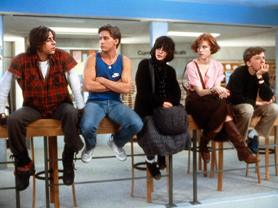 breakfast club, john hughes, real 80s clothes