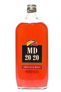 mad dog 20 20, maddog 20 20, mad dog 20/20, MD 20/20, banana red