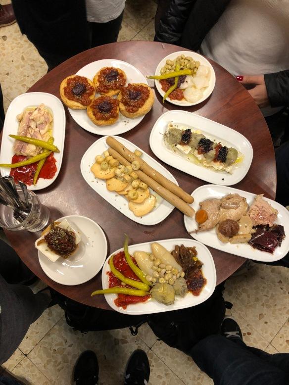 authentic spanish tapas, quimet y quimet, barcelona, pate