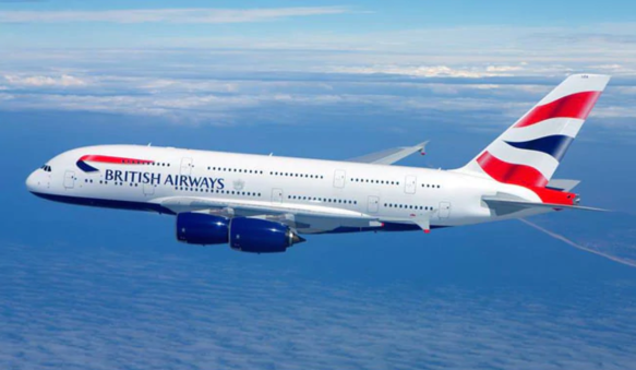 plane flying, british airways plane, british airways, drunk on british airways