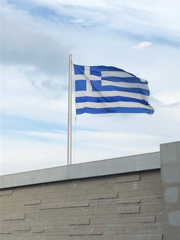 greek flag, athens greece, athens